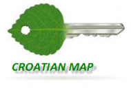 Croatian map